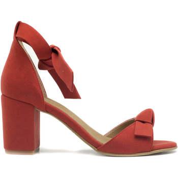 Schuhe Damen Sandalen / Sandaletten Nae Vegan Shoes Estela Red Rot