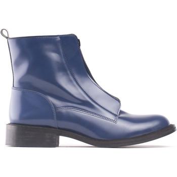 Schuhe Damen Low Boots Nae Vegan Shoes Zipmeblue Blau