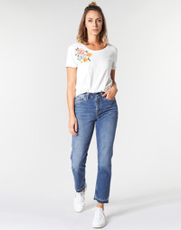 Kleidung Damen Straight Leg Jeans Pepe jeans MARY REVIVE Blau