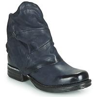 Schuhe Damen Boots Airstep / A.S.98 SAINT METAL Blau