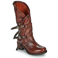 Schuhe Damen Klassische Stiefel Airstep / A.S.98 ISPERIA BUCKLE Rot