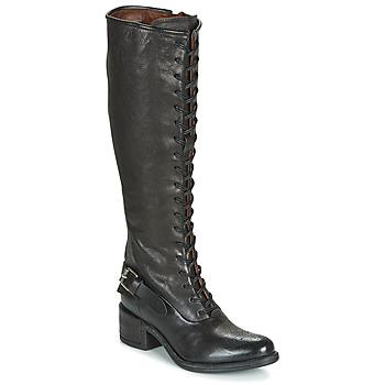 Schuhe Damen Klassische Stiefel Airstep / A.S.98 OPEA LACE Schwarz