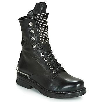 Schuhe Damen Boots Airstep / A.S.98 BRET METAL Schwarz