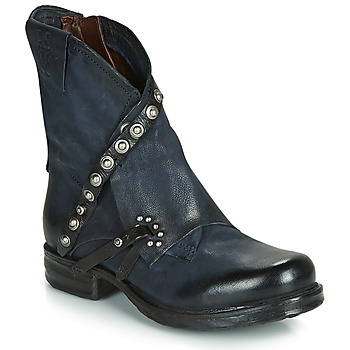 Schuhe Damen Boots Airstep / A.S.98 SAINT EC RIVET Blau