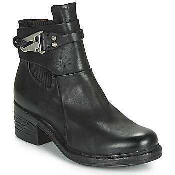 Schuhe Damen Boots Airstep / A.S.98 NOVA 17 CHELS Schwarz