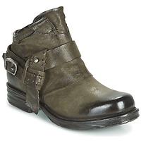 Schuhe Damen Boots Airstep / A.S.98 SAINT EC STRAPE Kaki