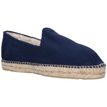 Schuhe Herren Leinen-Pantoletten mit gefloch Alpargatas Sesma 009 Hombre Azul marino bleu