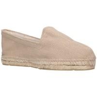 Schuhe Herren Leinen-Pantoletten mit gefloch Alpargatas Sesma 009 Hombre Beige beige