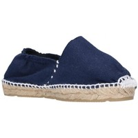 Schuhe Mädchen Leinen-Pantoletten mit gefloch Alpargatas Sesma 003 Niña Azul marino bleu