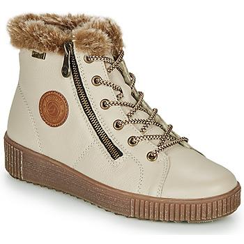 Schuhe Damen Sneaker High Remonte Dorndorf SERNNA Beige
