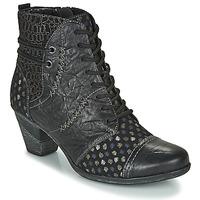 Schuhe Damen Low Boots Remonte Dorndorf D8786-06 Schwarz
