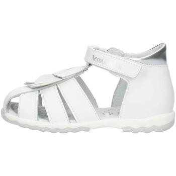 Schuhe Mädchen Sandalen / Sandaletten Nero Giardini P921160F weiß