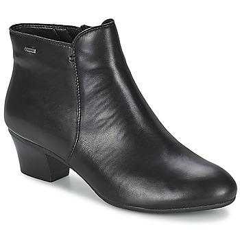 Schuhe Damen Low Boots Clarks MELANIE SU GTX Schwarz