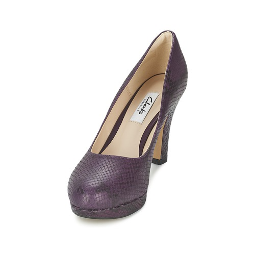 Clarks CRISP KENDRA Violett Schuhe 50 Pumps Damen 50 Schuhe 0cb3cb
