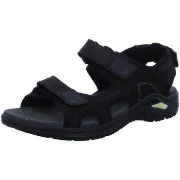 Schuhe Herren Wanderschuhe Lowa Offene 410370 9999 schwarz