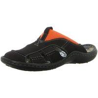 Schuhe Herren Sandalen / Sandaletten Krisbut Offene 1075-17-1 schwarz