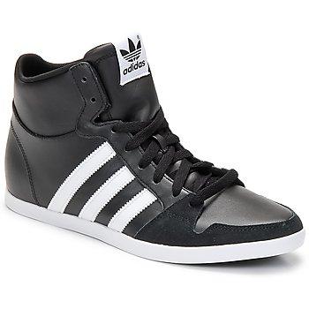 Schuhe Herren Sneaker High adidas Originals ADILAGO MID Schwarz / Weiss