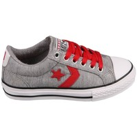 Schuhe Tennisschuhe Converse Star Player EV Grey/Red Grau