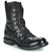 Schuhe Damen Boots Moma CUSNA NERO Schwarz