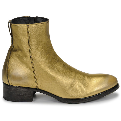 Schuhe Damen Low Boots Moma NJ ORO Gold