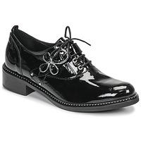 Schuhe Damen Derby-Schuhe Regard ROAZU V2 VERNIS Schwarz