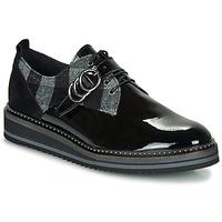 Schuhe Damen Derby-Schuhe Regard ROCSI V3 VERNIS Schwarz