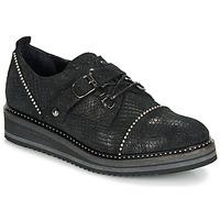 Schuhe Damen Derby-Schuhe Regard ROCTALOX V2 TOUT SERPENTE SHABE Schwarz