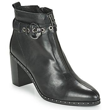 Schuhe Damen Low Boots Philippe Morvan BAXEL3 V1 MAIA Schwarz