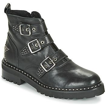 Schuhe Damen Boots Philippe Morvan DRAFT V1 MAIA Schwarz