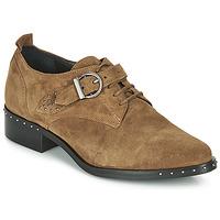Schuhe Damen Derby-Schuhe Philippe Morvan SAND V4 CRTE VEL Camel