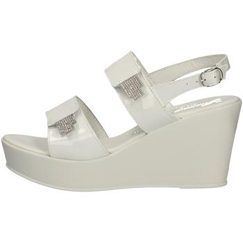 Schuhe Damen Sandalen / Sandaletten Susimoda 285094/94 WEISS