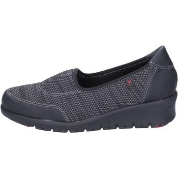 Schuhe Damen Slip on Cinzia Imprint slip on textil schwarz