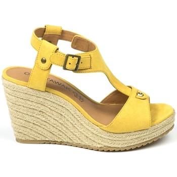 Schuhe Damen Sandalen / Sandaletten Chattawak sandales 7-LIVE Jaune Gelb