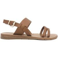 Schuhe Damen Sandalen / Sandaletten Chattawak sandales 7-RUBIS Camel Braun