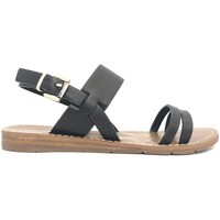 Schuhe Damen Sandalen / Sandaletten Chattawak sandales 7-RUBIS Noir Schwarz