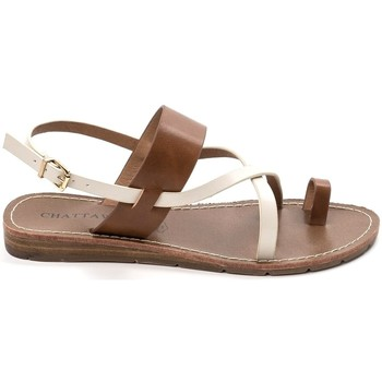 Schuhe Damen Sandalen / Sandaletten Chattawak sandales 7-VALERIANE Camel Braun