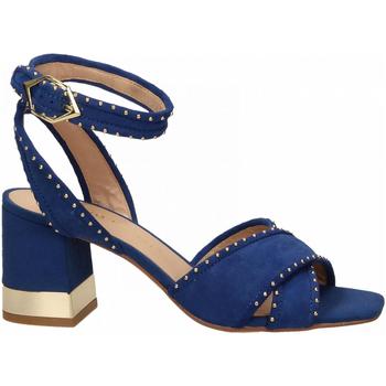 Schuhe Damen Sandalen / Sandaletten Bruno Premi CAMOSCIO mare