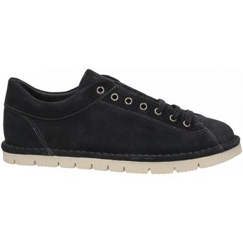 Schuhe Herren Sneaker Frau SUEDE blu