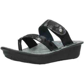 Schuhe Damen Pantoletten / Clogs Wolky Pantoletten Martinique Circles 0087785130 schwarz