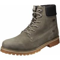 Schuhe Herren Boots Mustang 4875-605-318 grau