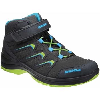 Schuhe Jungen Wanderschuhe Lowa Schnuerstiefel Maddox GTX MID Jr 340123/350123-9706 grau