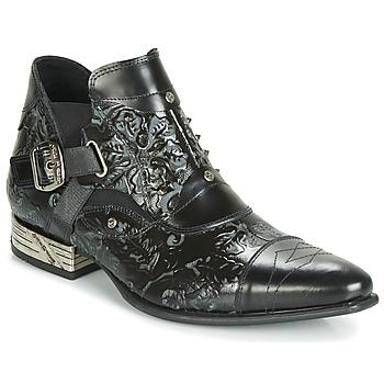 Schuhe Herren Boots New Rock BRAVA Schwarz