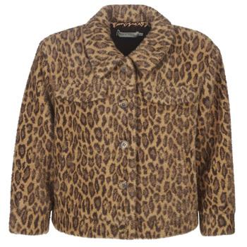 Kleidung Damen Jacken See U Soon 9262153 Leopard