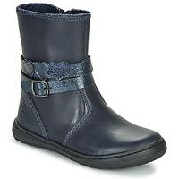 Schuhe Mädchen Boots Citrouille et Compagnie LOMINE Blau