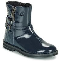 Schuhe Mädchen Boots Citrouille et Compagnie LIMIDOU Blau
