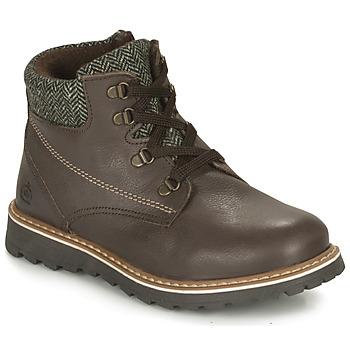 Schuhe Jungen Boots Citrouille et Compagnie HEFINETTE Braun