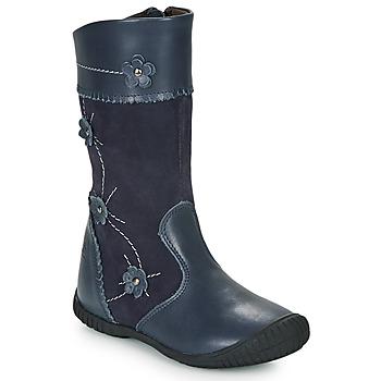 Schuhe Mädchen Klassische Stiefel Citrouille et Compagnie AMATIS Marine