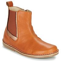 Schuhe Mädchen Boots Citrouille et Compagnie LOUTE Camel