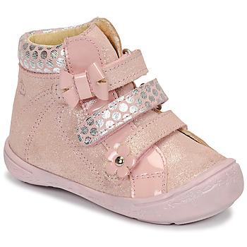 Schuhe Mädchen Boots Citrouille et Compagnie HODIL Rose