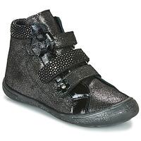 Schuhe Mädchen Boots Citrouille et Compagnie HODIL Schwarz
